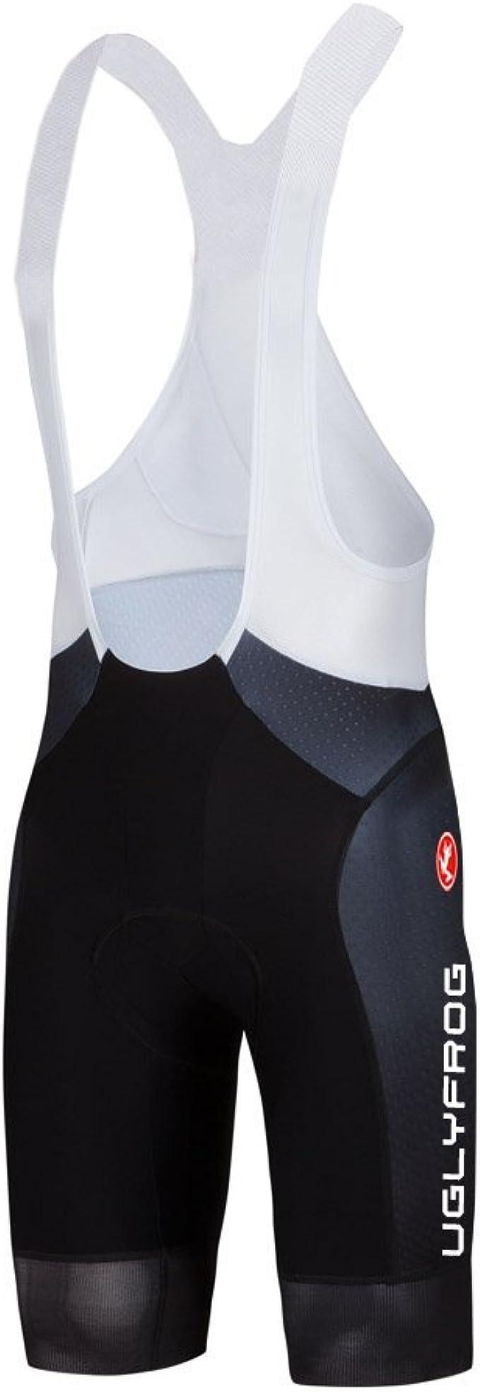 Mens Cycling Bib Shorts Bicycle Cool Max Padded Road Bike Cycling Tights Shorts