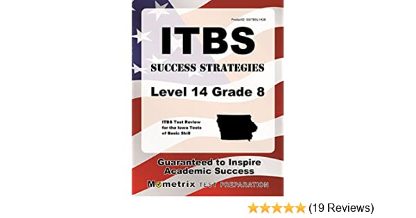 Amazon itbs success strategies level 14 grade 8 study guide amazon itbs success strategies level 14 grade 8 study guide itbs test review for the iowa tests of basic skills ebook itbs exam secrets test prep fandeluxe Image collections
