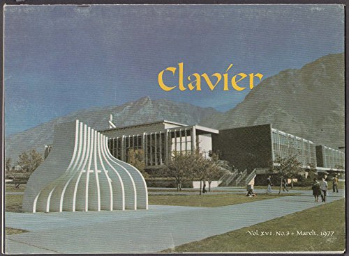 CLAVIER Vol 16 #3 Thomas Arne; Rebuilding an Organ ++ 3 1977