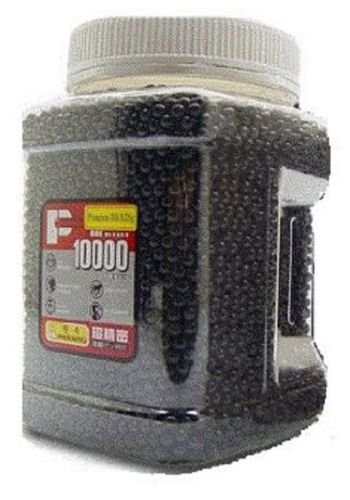 (P-Force 10,000 .25g Airsoft BB's)