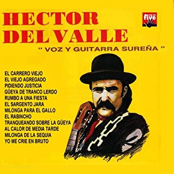 HECTOR DEL VALLE - HECTOR DEL VALLE -Voz y guitarra sureña - Amazon.com Music