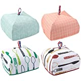 4-Pack Food Cover - Portable Thermal Pop-Up Food Cover, Small Collapsible Food Tent