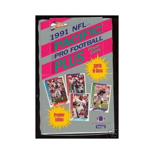 1991 Pacific Plus JUMBO Football MORE THAN A Wax Pack (Pacific Autograph)
