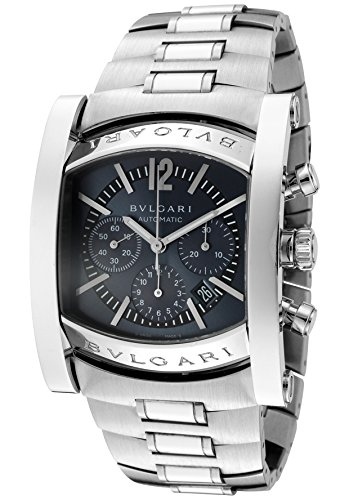 Bulgari-Mens-Assioma-MechanicalAutomatic-Chronograph-Ardoise-Dial-Stainless-Steel