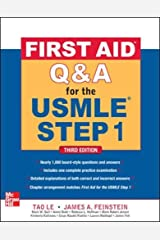First Aid Q&A for the USMLE Step 1, Third Edition (First Aid USMLE) Paperback