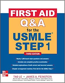 Buy First Aid Q&A for the USMLE Step 1, Third Edition (First