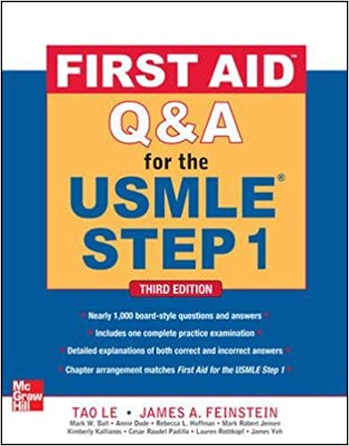 First aid qa for the usmle step 1 third edition first aid usmle first aid qa for the usmle step 1 third edition first aid usmle tao le james a feinstein mark w ball annie dude rebecca l hoffman ccuart Gallery