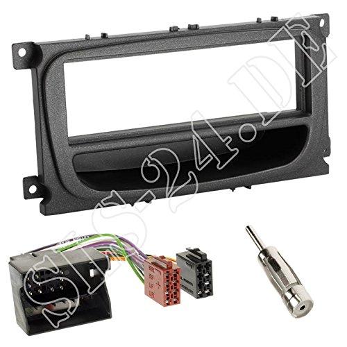 Adapterkabel Ford Mondeo Set Einbaurahmen 2007-/> Radioblende 1DIN BA7
