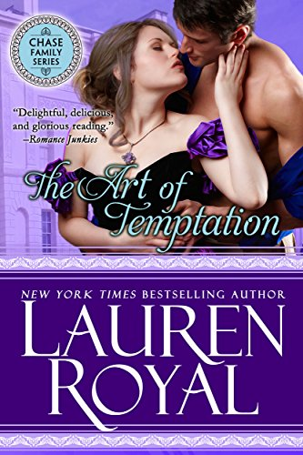 (The Art of Temptation (Regency Chase Family Series, Book 3))