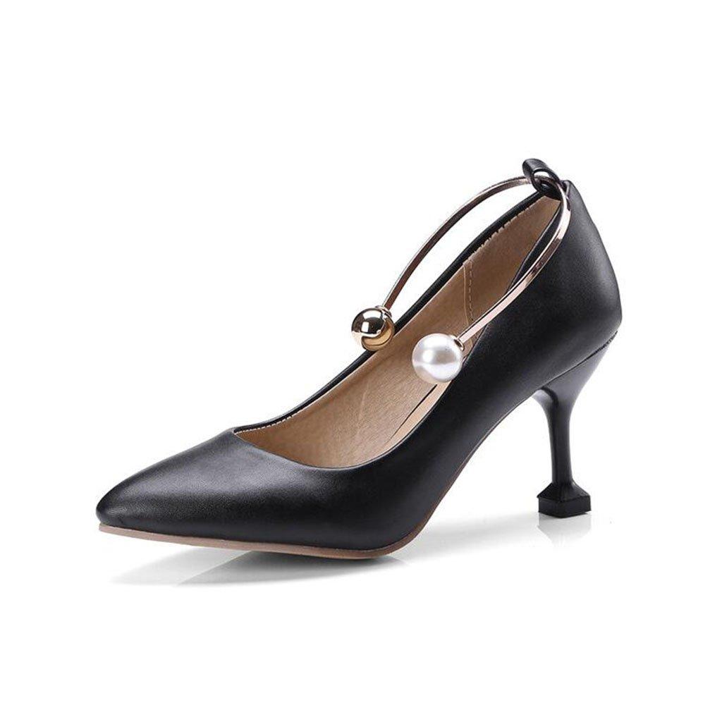 XUERUI XUERUI XUERUI Frau High Heels Stilettos Party Abschluss Elegant Modisch 7cm Absatz (Farbe   3, größe   EU36 UK4 CN36) 35d0a0