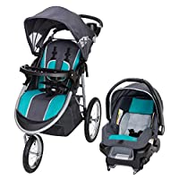 Explore the outdoors in style together with your little one in the Baby Trend Pathway 35 Travel System in Optic Teal. The jogger is designed for optimal safety and convenience with features such as a 5-point safety harness with harness covers, adjust...