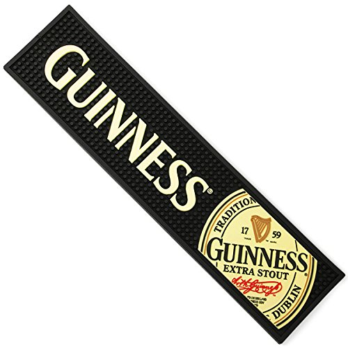 Guinness Label PVC Bar Spill Mat (sg)