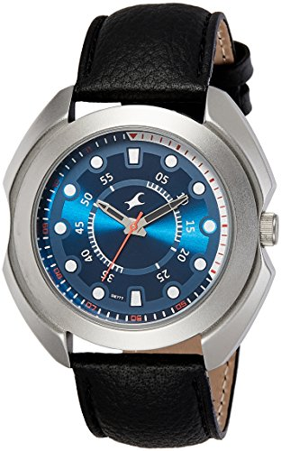 Fastrack Analog Blue Dial Men's Watch 3117SL04