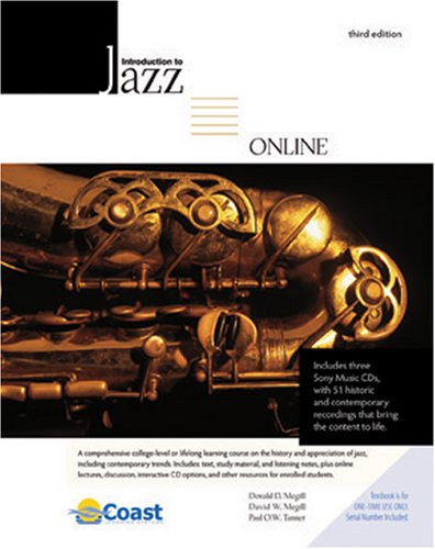 INTRODUCTION TO JAZZ ONLINE PACK W/ 3 CD SET