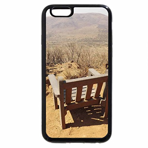 iPhone 6S / iPhone 6 Case (Black) Rhino and Lion Park Bench With A Beautiful View