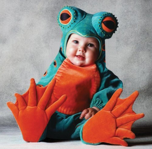 Tom Arma Frog Toddler Costume (4T-5T) by Halloween FX (Tom Halloween Costumes)