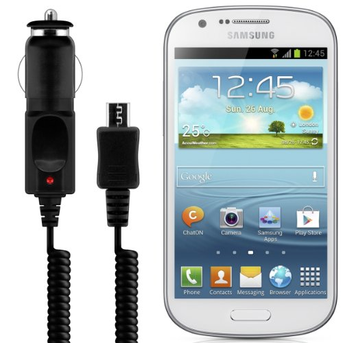 kwmobile® MOTOR VEHICLE CHARGER for Samsung Galaxy Express i8730 Micro USB - premium quality!