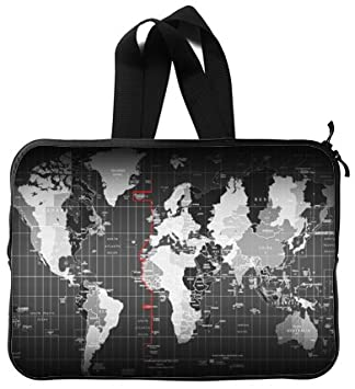 Beautiful design world map handle macbook macbook air 13 inch beautiful design world map handle macbook macbook air 13 inch laptop sleeve laptop bag gumiabroncs Choice Image