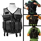 TRINITY SUPPLY Paintball mesh vest with mag pouch for tippmann tmc accessories.