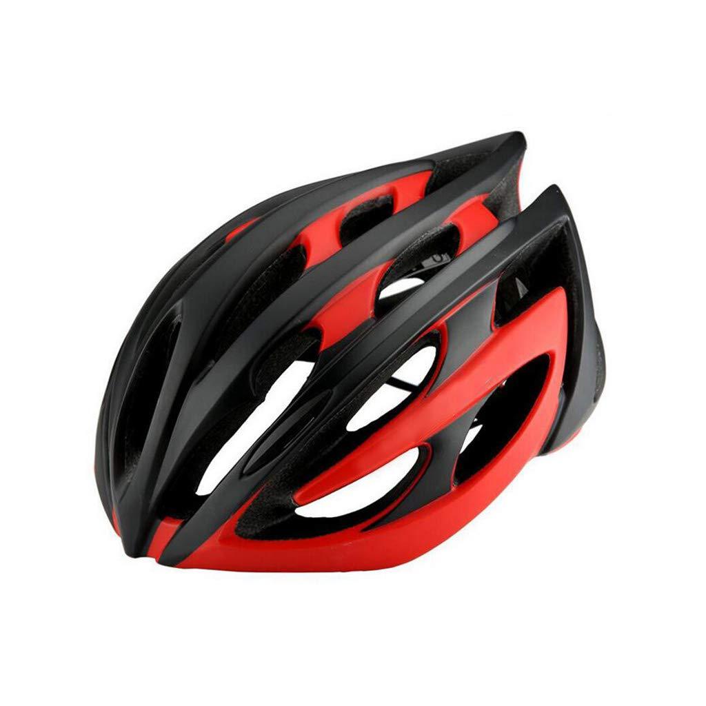 【限定品】 自転車ヘルメット B07PTQZJZR、ロードマウンテンバイクヘルメット調整可能な軽量アダルトヘルメットバイクレーシングセーフティキャップ - ワンボディフォーミング B07PTQZJZR Red, ジーンズ ジーパ ウェブサイト:4deae39b --- a0267596.xsph.ru