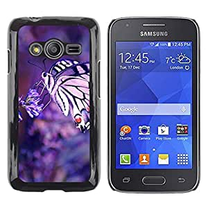 Exotic-Star ( Nature Butterfly Macrp ) Fundas Cover Cubre Hard Case Cover para Samsung Galaxy Ace4 / Galaxy Ace 4 LTE / SM-G313F