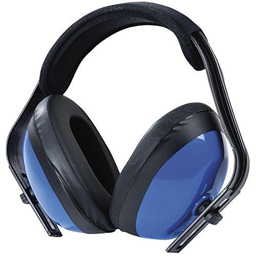 Sellstrom S23401 - Espumadera económica, industrial y de construcción, NRR25, ANSI S3.19, color azul