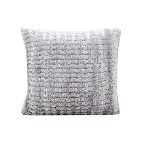 (iYBUIA Secant Stripes Pillow Case Sofa Waist Throw Cushion Cover Home)
