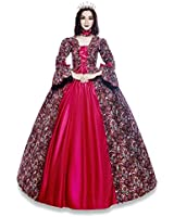 Renaissance Queen Elizabeth I/Tudor Gothic Jacquard Fantasy Dress Game of Thrones Gown