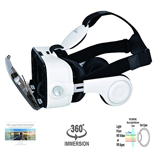 Step Into The Light Vr: VR EMPIRE Virtual Reality 3D Glasses Headset With 120° FOV