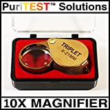 10X Magnifying Eye Loupe Kids Biology Discovery Tool Toy for Bug Nut Inspectors