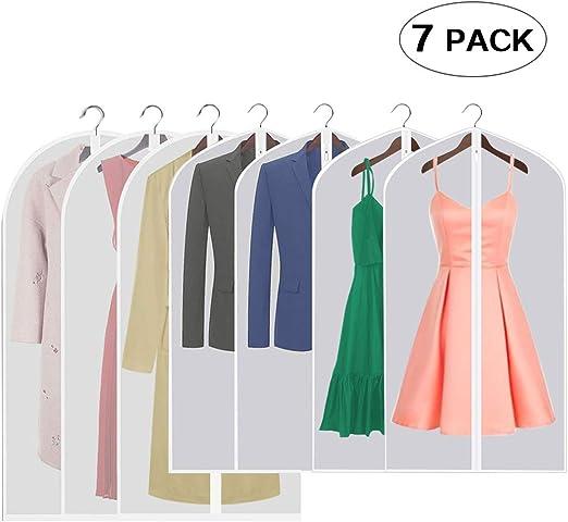 Staubdicht Kleid Kleidung Abdeckung Anzug Kleid Kleidersack Lagerung Nützlich
