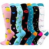 Compression Socks for Women & Men - Best for Running, Athletic Sports, Crossfit