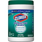 Clorox Disinfecting Wipes, Bleach Free Cleaning Wipes - Fresh Scent, 105 Count Each (Pack of 4)