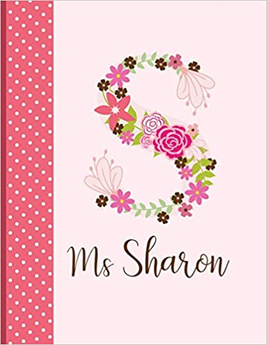 Ms Sharon: Personalized Writing Journal / Notebook for Women