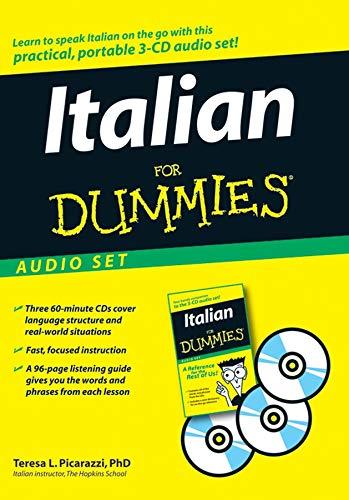 Italian For Dummies Audio Set (Italian Language Training)