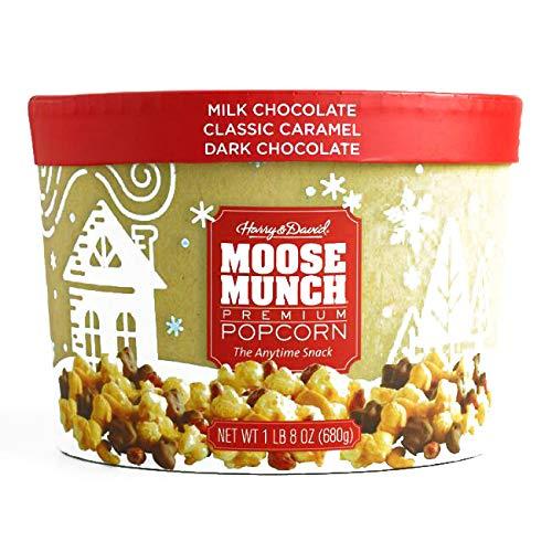 Harry & David Classics Moose Munch Popcorn Gift Drum 24 oz each (1 Item Per Order, not per case) -