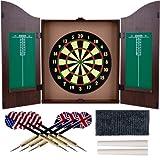 Trademark Global TG? Dartboard Cabinet Set - Front Markings Across Board