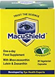 Macushield Eyecare Supplement Capsules - Pack of 90 Vegetarian Capsules