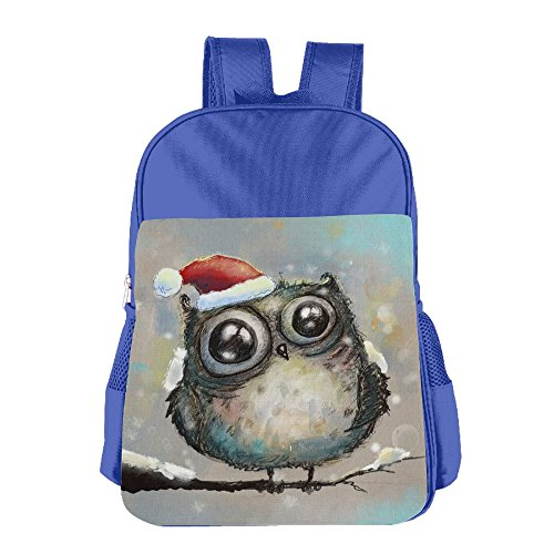 Price comparison product image Casual Lightweight Christmas Owl School Backpacks Cut School Bag Daypack Book Bag