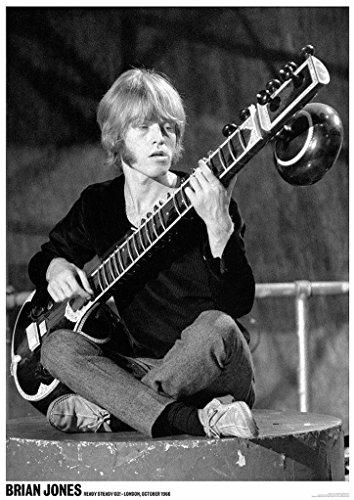 Brian Jones Ready Steady Go 1966 Music Poster