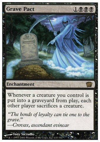 Magic: the Gathering - Grave Pact - Eighth Edition by Magic: the Gathering