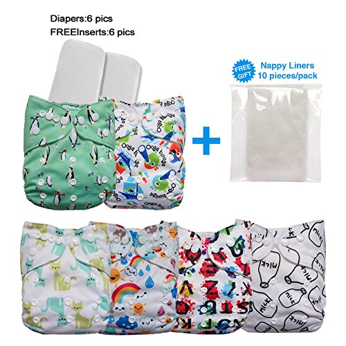 LBB Diapers Adjustable Reusable Inserts