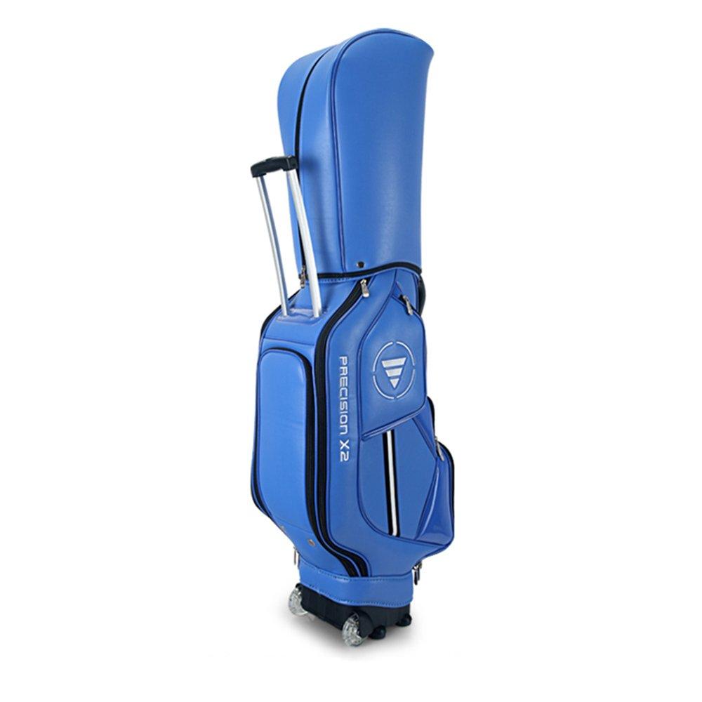 【お1人様1点限り】 JI BIN USSHOP® ゴルフバッグゴルフカートバッグゴルフクラブバッグ多機能航空バッグ USSHOP® - トラベルボールバッグ - メンズレディース 黒) - 青 プ - スーパー軽量4.75kg-厚いショルダーパッド - ブルー/ブラック/ホワイト* (色 : 黒) B07KQTD6WN 青 青, カレンダー販売のいい暦:07705fba --- ballyshannonshow.com