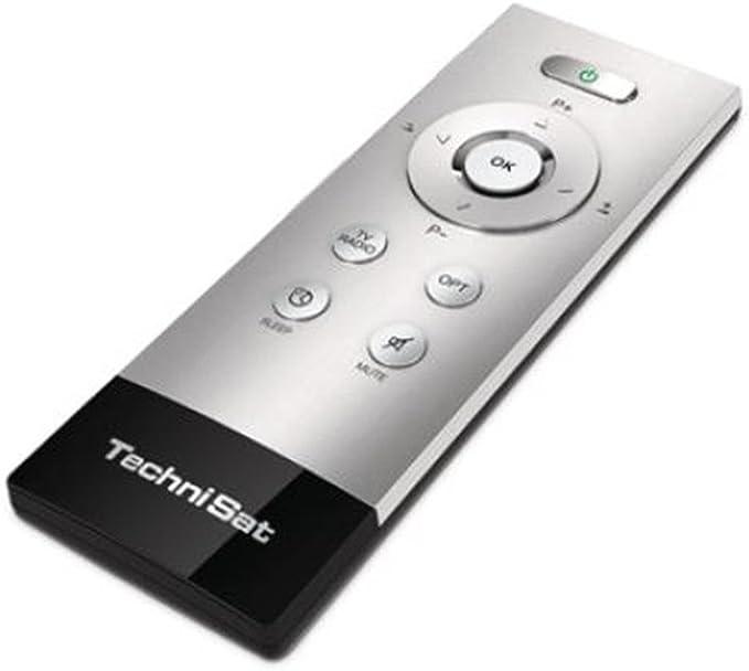 Technisat Remoty Plus Hochwertige Aluminium Senioren Fernbedienung Passend Zu Allen Digitalreceivern Und Tv Geräten Von Technisat Silber Heimkino Tv Video