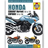 Honda CB600 Hornet Service and Repair Manual: 1998 to 2002 (Haynes Service and Repair Manuals)