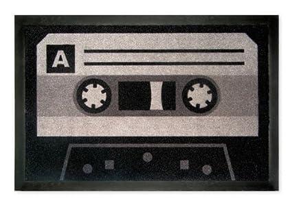 Knistermann - Felpudo, diseño de cinta de cassette