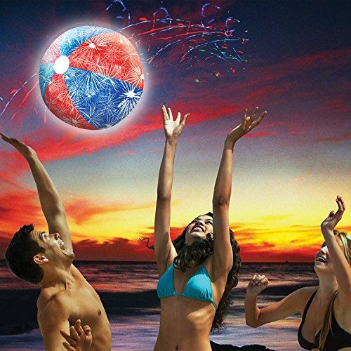SwimWays Light-Up Beach Ball
