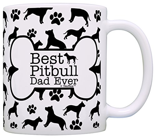 Owner Gifts Pitbull Pattern Coffee product image