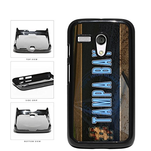 BleuReign(TM) Hashtag Tampa Bay #TampaBay Baseball Team Plastic Phone Case Back Cover For Motorola Moto G