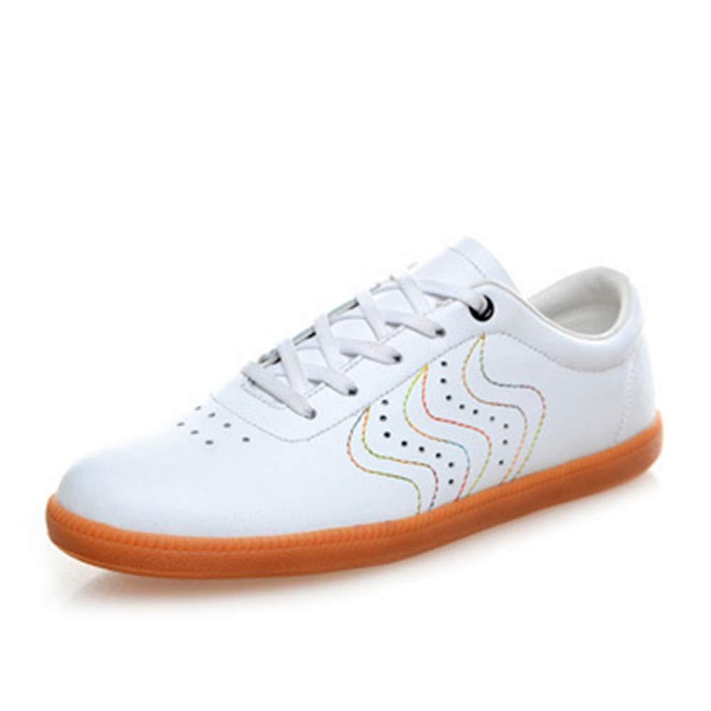 CAI&HONG-Domestics GCH Taiji Chaussures Doux Peau de Vache Gluten Wushu Chaussures A